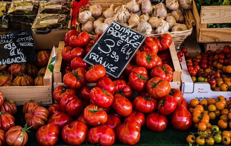 Local markets and producers